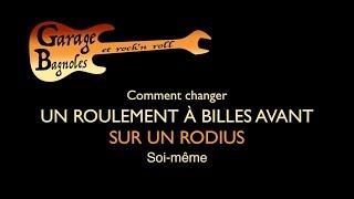 ✅ Rodius roulement avant ▸▸ version courte