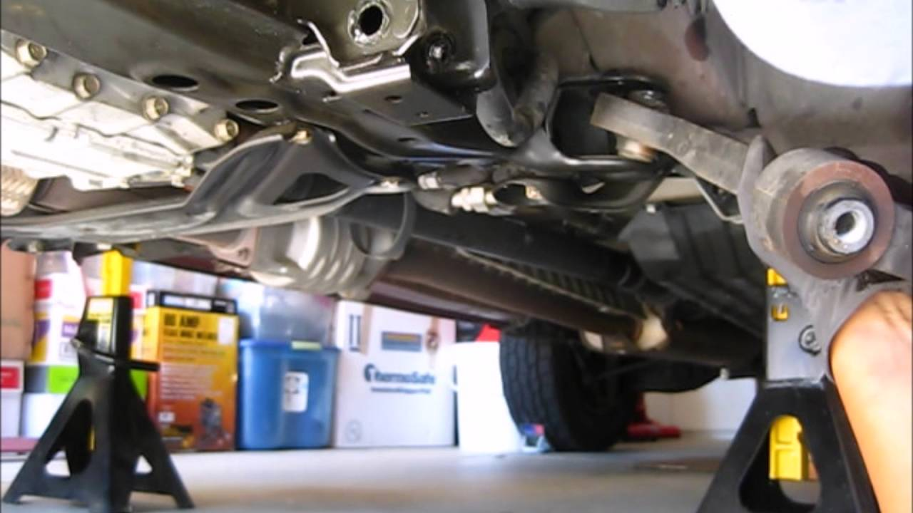 Honda Pilot Lower Control Arm Replacement - YouTube