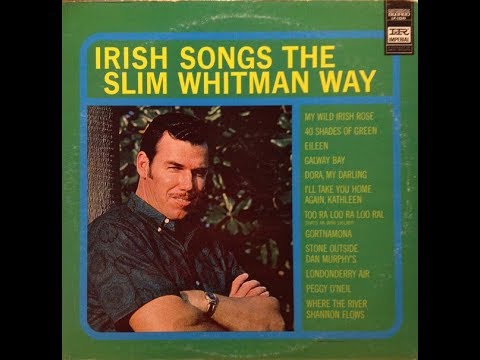 Slim Whitman - Irish Songs The Slim Whitman Way (Complete LP) - (1964).