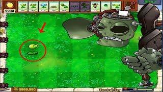 1 PeaShooter Cactus vs 99999 Conehead Zombie - Hack Plants vs Zombies