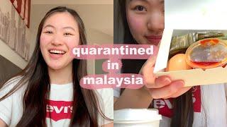 Malaysia Quarantine Vlog | Process, Room Tour, Food, My Thoughts