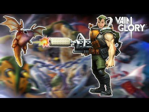 видео: vainglory gameplay игра жанра moba Играем Пилой saw hero