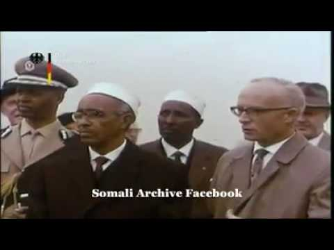 Aden adde Somalia president visits Germany 1965 discussing  economic