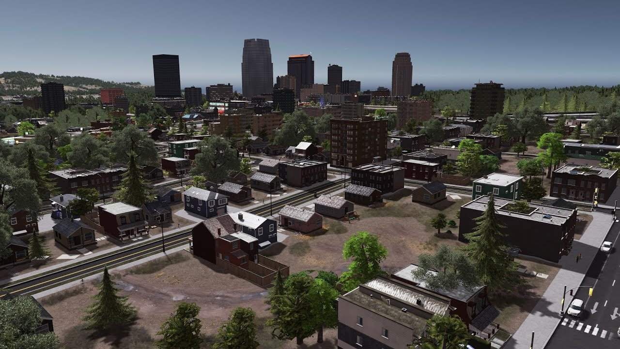 Cities skylines building a realistic us city ep 2 for Us city skylines photos