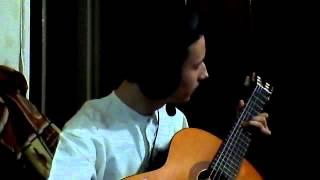 Северный ветер - играем на гитаре