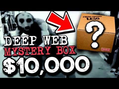 Youtubers Are Unboxing Terrifying Mystery Boxes From The Dark Web