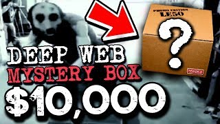Buying $10,000 Mystery Box from the Deep Web (MUST WATCH)