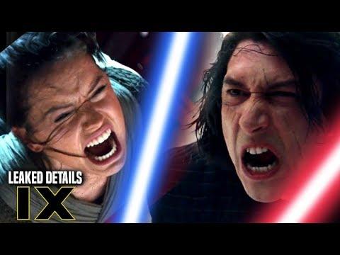 Star Wars Episode 9 Leaked Details! Kylo Ren & Rey