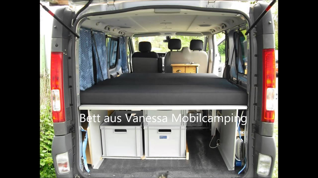 vivaro minicamper im eigenbau youtube. Black Bedroom Furniture Sets. Home Design Ideas