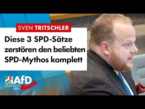 SPD-Zitat widerlegt SPD-Märchen – Sven Tritschler (AfD)