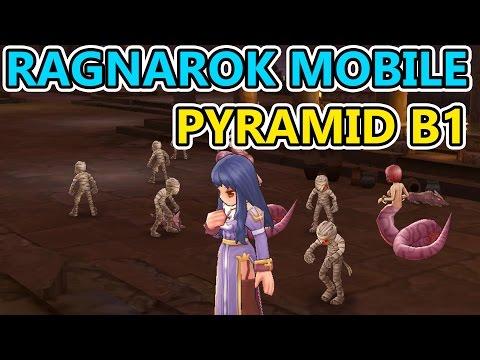 Ragnarok Online Mobile HD – Pyramid B1  – Priest & Assassin Gameplay