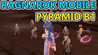 Ragnarok Online Mobile HD - Pyramid B1  - Priest & Assassin Gameplay