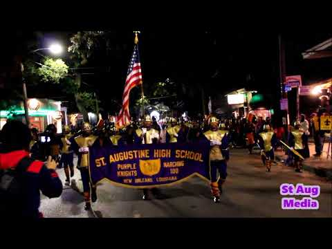 St Aug Marching Band 2018  @ Cleopatra Parade Full Coverage