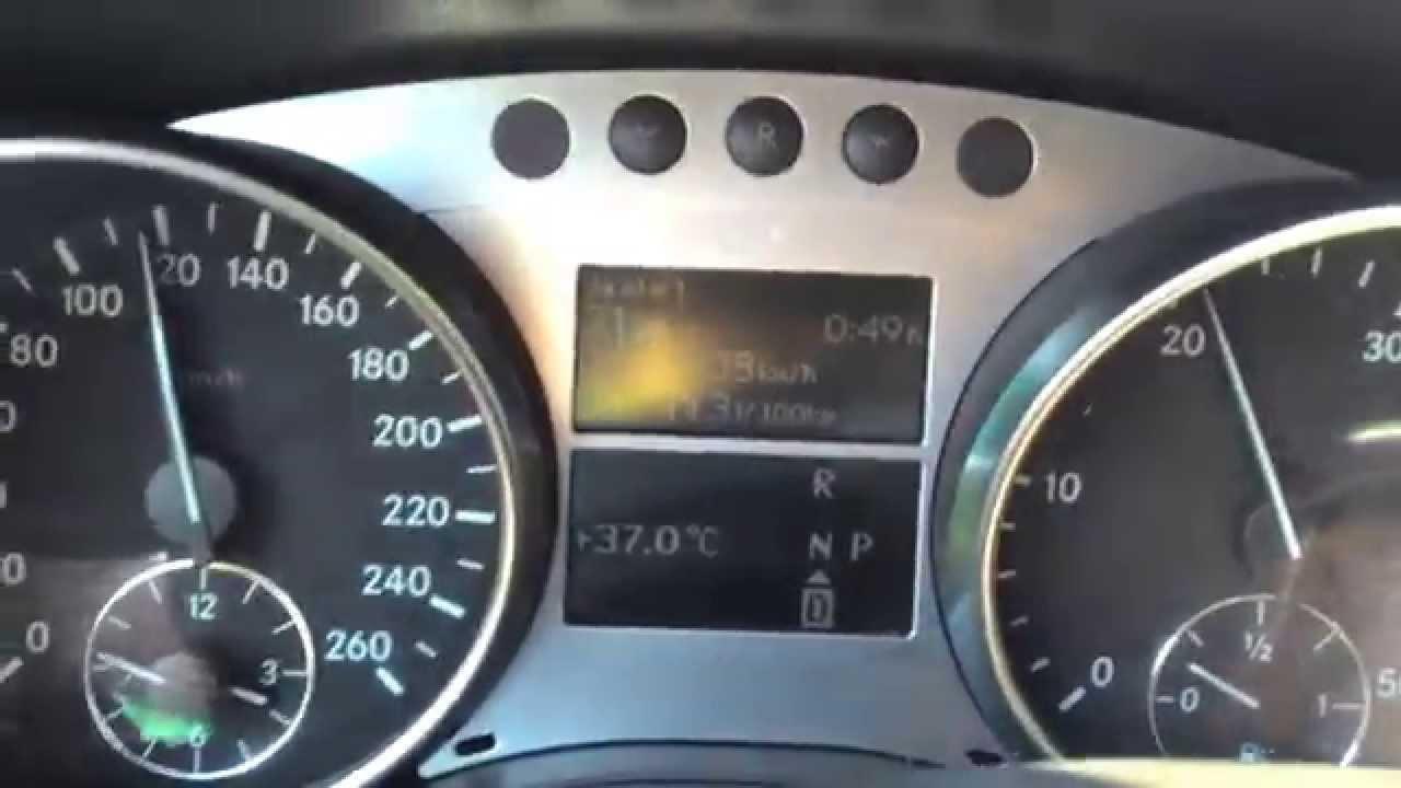 come si guida con cambio automatico 7g-tronic mercedes - youtube