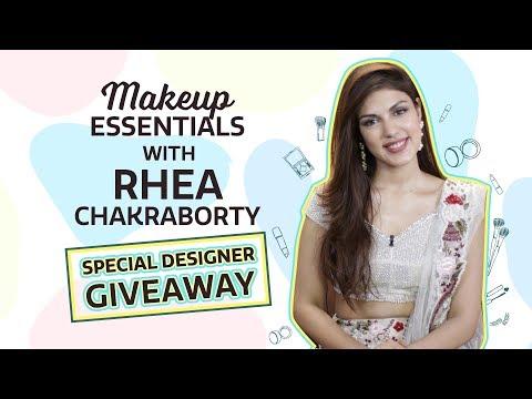 Rhea Chakraborty: What's in my makeup bag| Pinkvilla| Fashion| Shriya Som