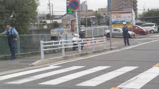 また名古屋熱田区伝馬町で違法な取り締まり