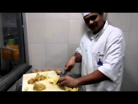 Potato chef in taj hotel mumbai