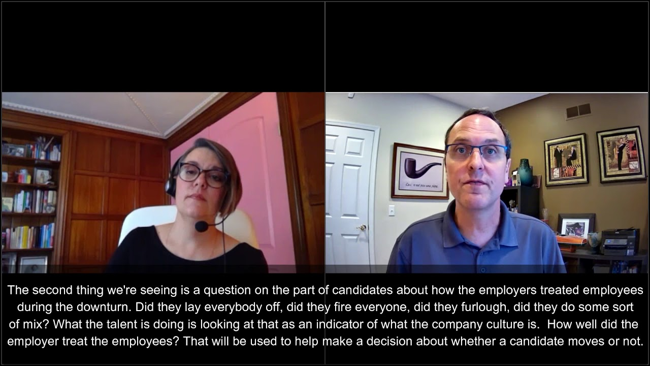 VIDEO: How has COVID-19 Changed Recruiting?