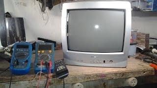 ( 56 )# TV SEMP TOSHIBA COM FLYBACK QUEIMANDO OUTRAS PEÇAS