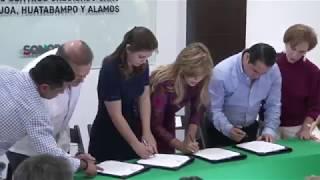 Firma Gobernadora Convenio con DIF Nacional para operar Centros Comunitarios