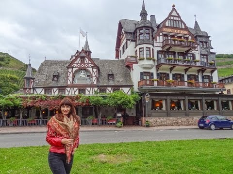 German Castles Rhine Valley. Most Scenic Route. Round the World Trip, 26