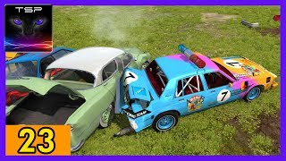 BeamNG drive - Demolition Derby #23 - Oldsmobile Regency Banger
