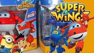 COMPILACAO SUPER WINGS Transformers Jatos Bonecos Jett Ari Jerome Patati Patata Kinder Ovo Surpresa