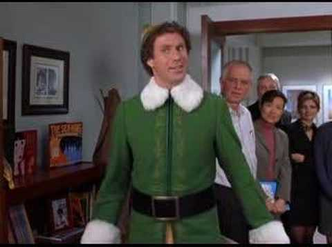 Buddy the Elf meets Walter the Dad