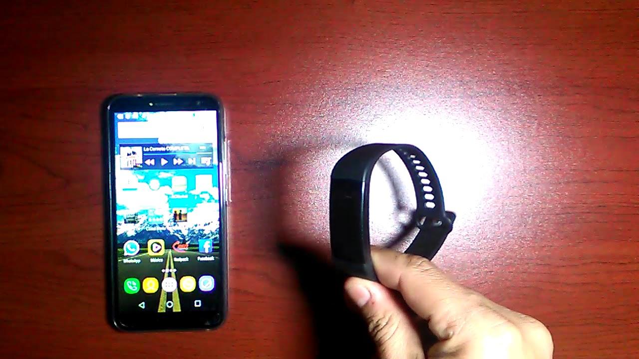 8624527e65aa Smart band Goral Y5 como emparejar (conectar)