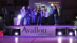 Les meilleurs sportifs dans les associations d'Avallon mis à l'honneur pour l'année 2018.