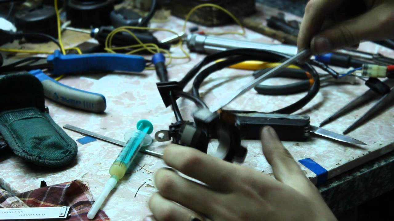 ремонт генератора honda CRF 250