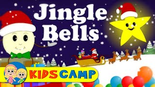 Jingle Bells Christmas Carol | Nursery Rhymes And Kids Songs by KidsCamp
