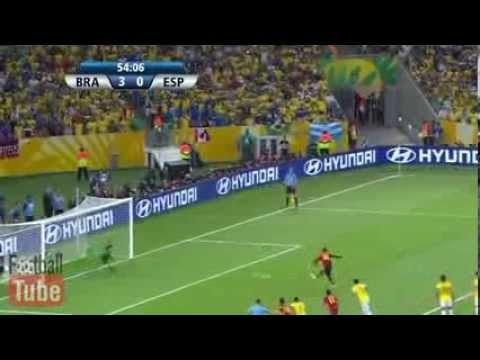 Brazil Vs Spain 3 0 All Goals and Highlights HD 30 06 2013] Confederation Cup Final 2013   YouTube
