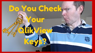 do you check your qlikview keys qlikview for beginners