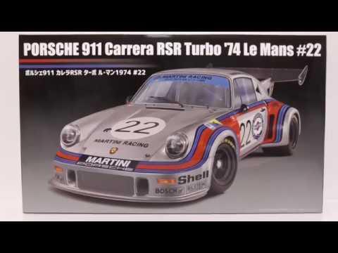 Fujimi 1 24 Porsche 911 Carrera Rsr Turbo 74 Le Mans 22