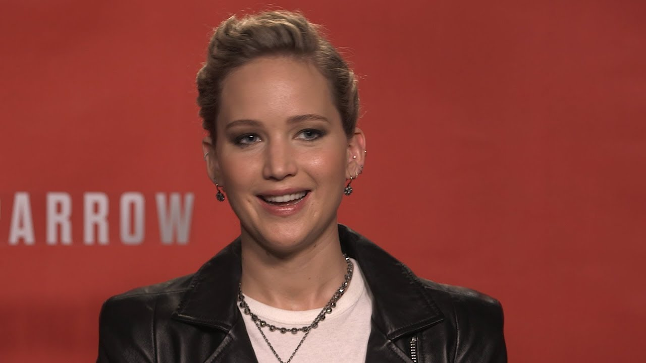 Jennifer Lawrence Bares All In RED SPARROW (Interview) - YouTube