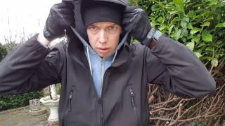 Review Soft shell Jacke/Bushcraft/Survival/Outdoor/Lost place