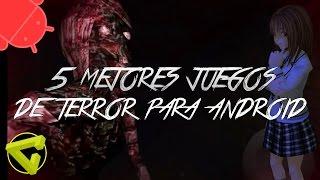TOP: LOS 5 MEJORES JUEGOS INDIE DE TERROR PARA ANDROID 2015 - MI OPINIÓN - ESPECIAL HALLOWEEN