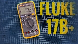 Профессиональный мультиметр Fluke 17B+. Обзор с полной разборкой