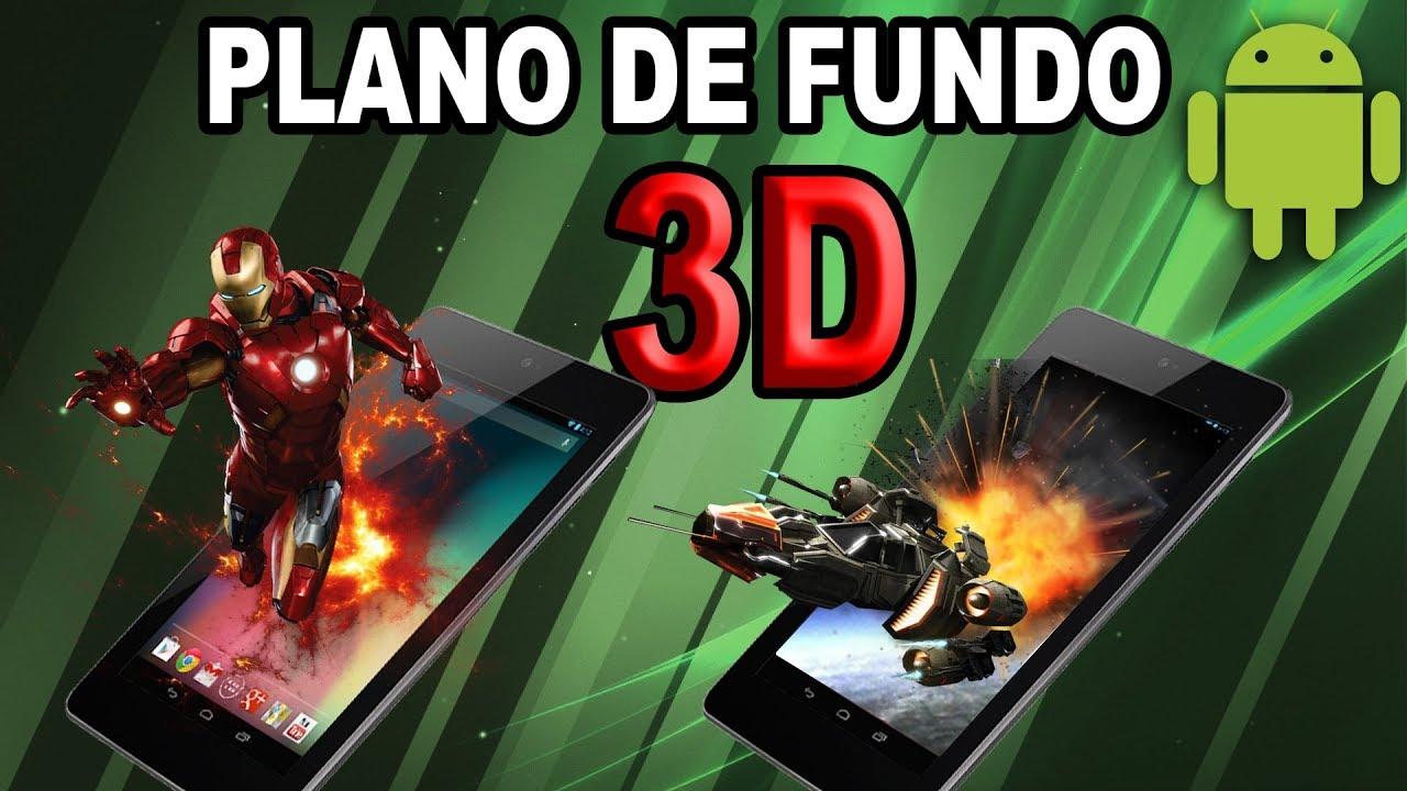 Papel De Parede 3D No Celular