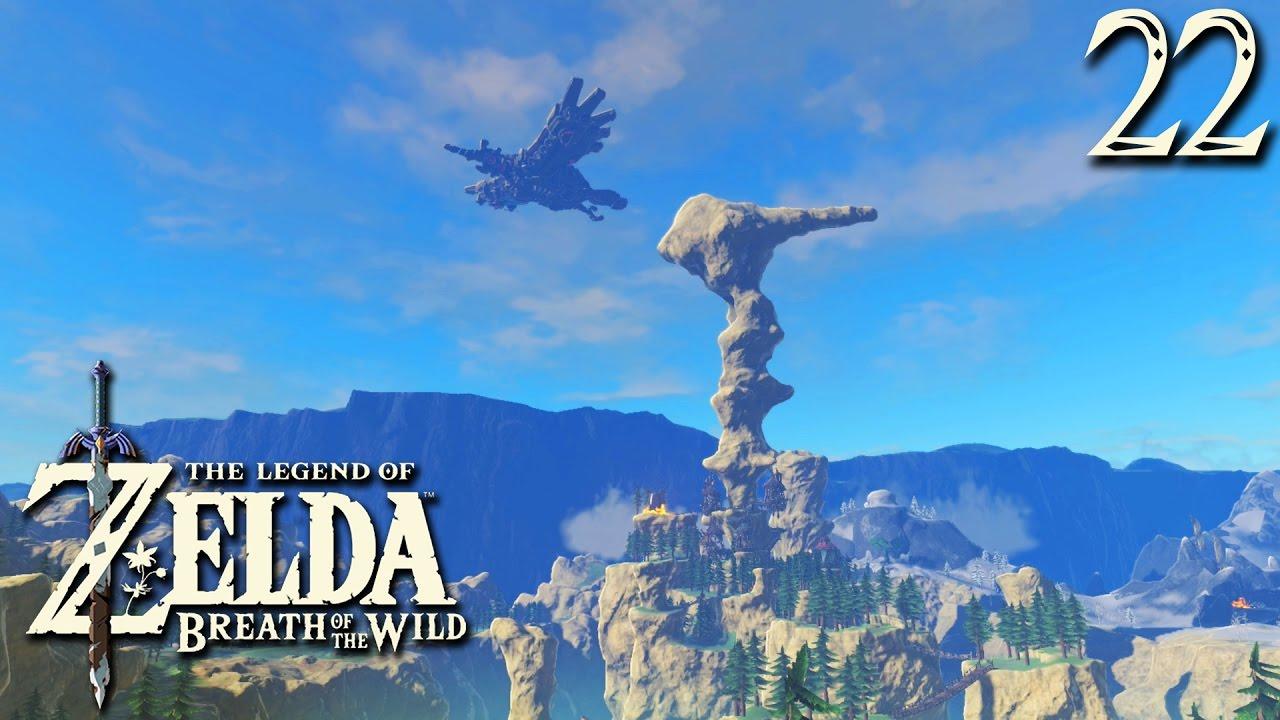 L Int 233 Grale Zelda Breath Of The Wild 22 Le Village Piaf