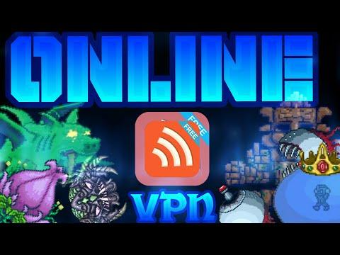 Como Jugar Terraria Android Online!!! VPN EASY!!!