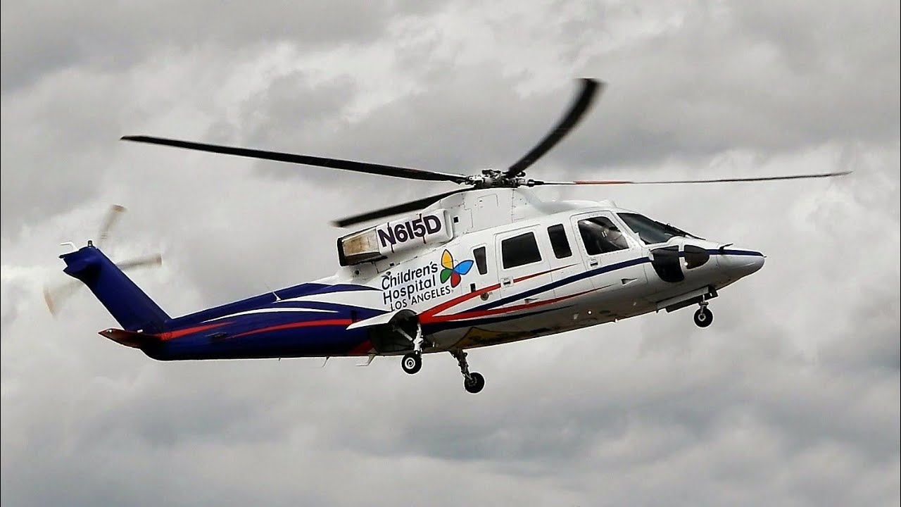 "Sikorsky S-76B Helicopter ""Children's Hospital"" N615D ..."