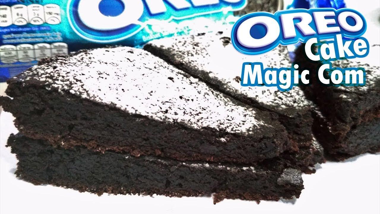 Resep Cara Membuat Oreo Cake Viral 2 Bahan Rice Cooker Sangat Mudah
