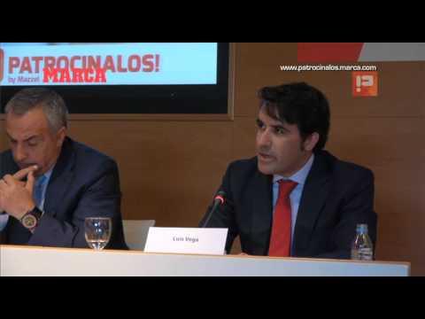 MARCA con Patrocínalos. Presentación. Luis Vega