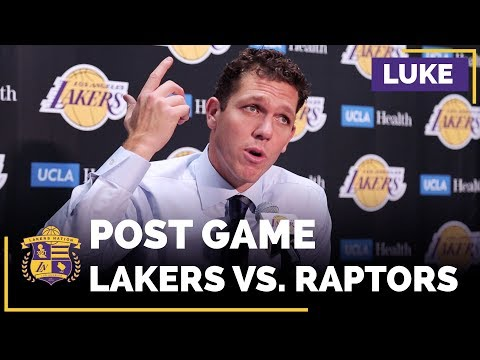 Luke Walton Sends A Message To The Lakers Starters