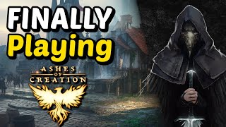 I Tested Ashes of Creation - The Most Hyped Upcoming MMORPG