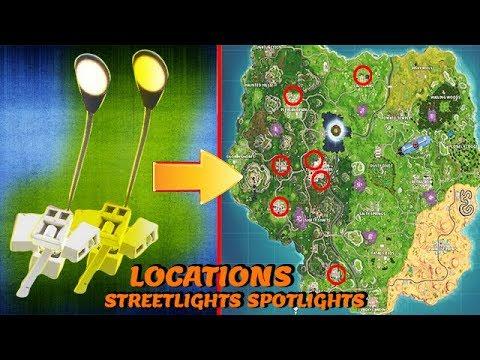fortnite all spotlight locations