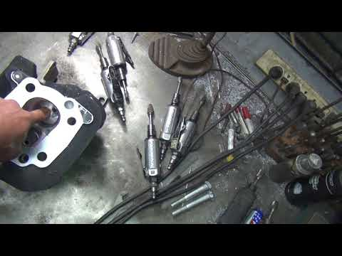 2005 xl 1200 #105 sportster porting head and cylinder rebuild repair roadster by tatro machine