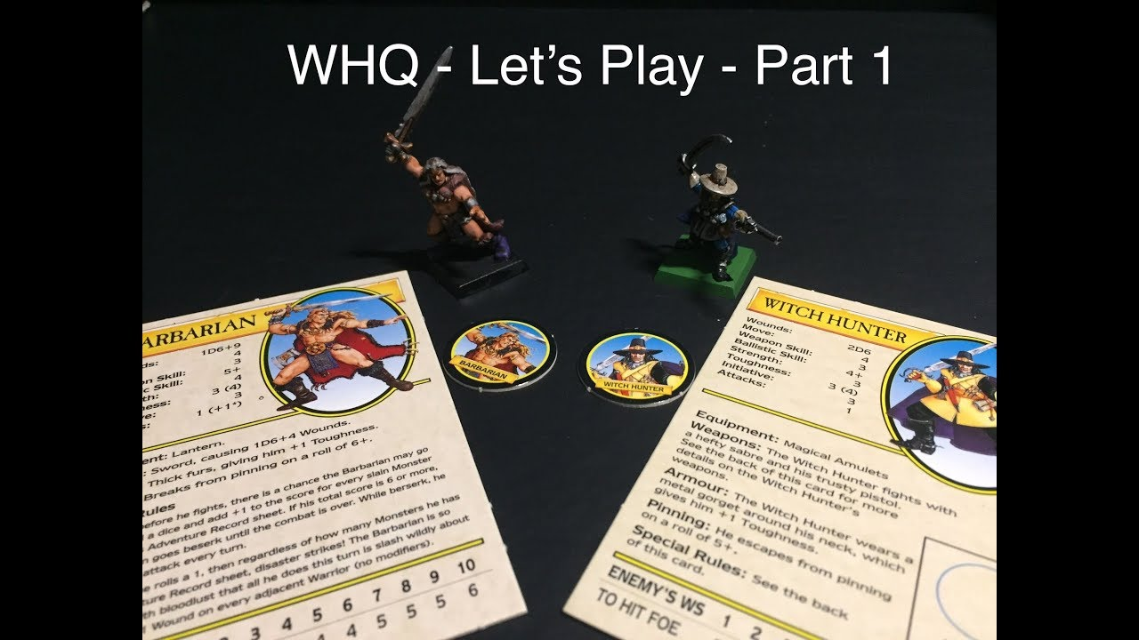 Download Warhammer Quest - Let's Play - Part 1 - The Barbarian and The Witch Hunter